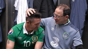 Robbie Keane Martin O'Neill Republic of Ireland 16112016