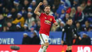Juan Mata Manchester United Leicester City