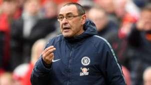 Maurizio Sarri Chelsea Liverpool