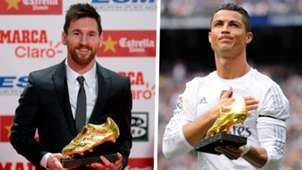Lionel Messi Cristiano Ronaldo Golden Shoe