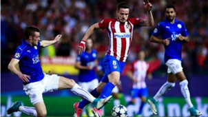 Saul Niguez Jamie Vardy Atletico Madrid Leicester City UCL 12042017