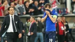 Senad Lulic Simone Inzaghi Lazio Red Bull Salzburg