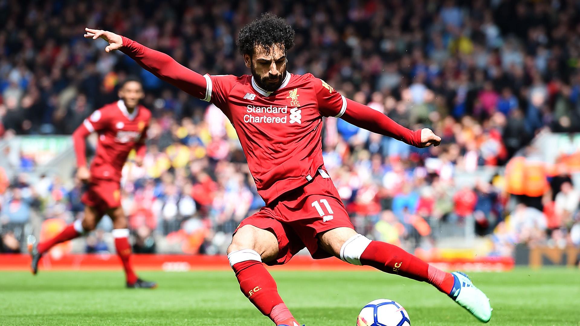 Mohamed Salah Liverpool Stoke City Premier League
