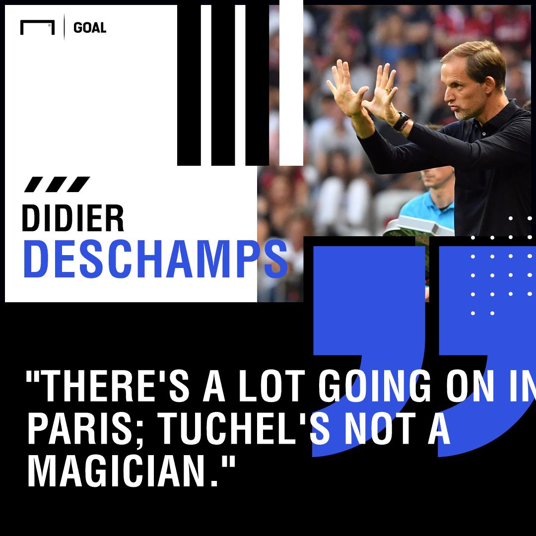 Thomas Tuchel Deschamps PS