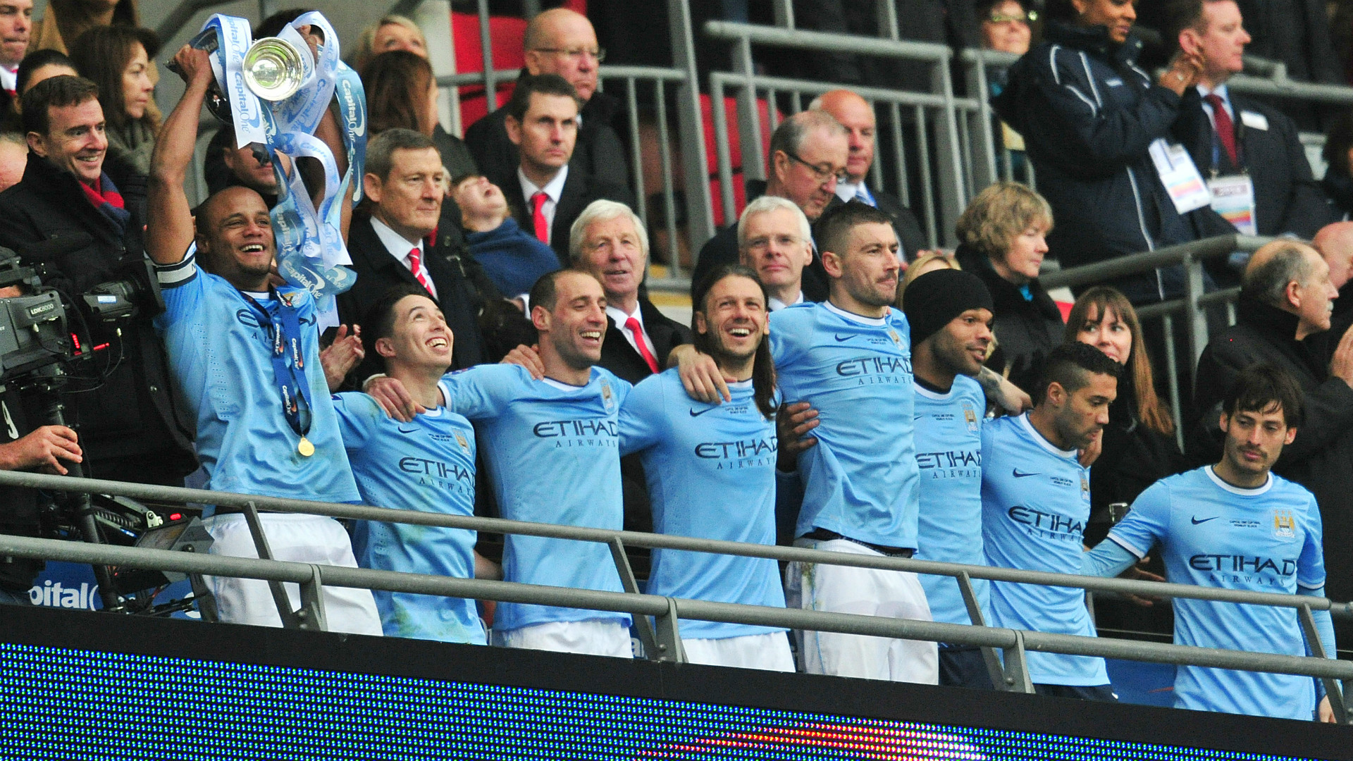 Manchester City League Cup 2014
