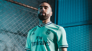 Dani Carvajal wearing the new third Real Madrid kit for 2019-20 season