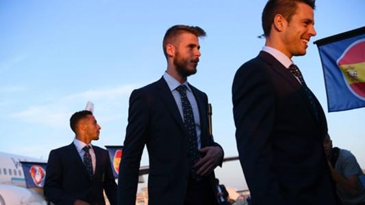 David De Gea Spain EURO 2016 Arrival