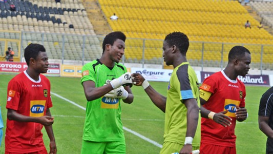 Kotoko & Wa All Stars goalkeepers