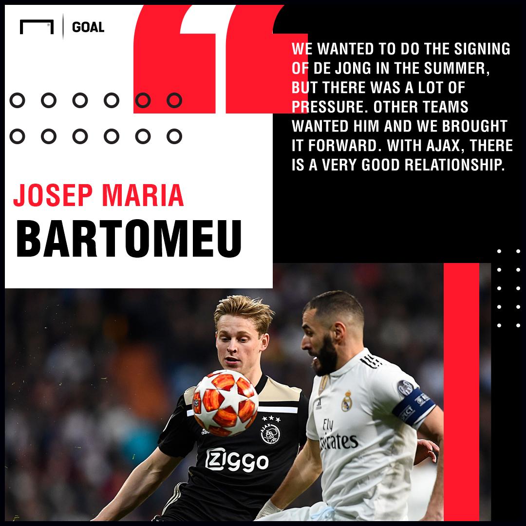 Bartomeu De Jong Barcelona PS