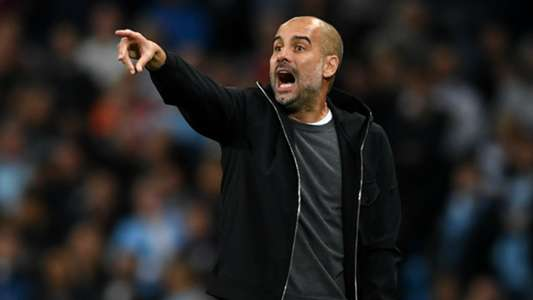 Josep Guardiola Manchester City Napoli UEFA Champions League 10172017