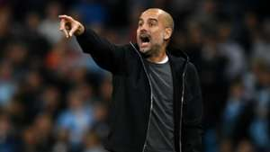 Josep Guardiola Manchester City Napoli UEFA Champions League 10172017