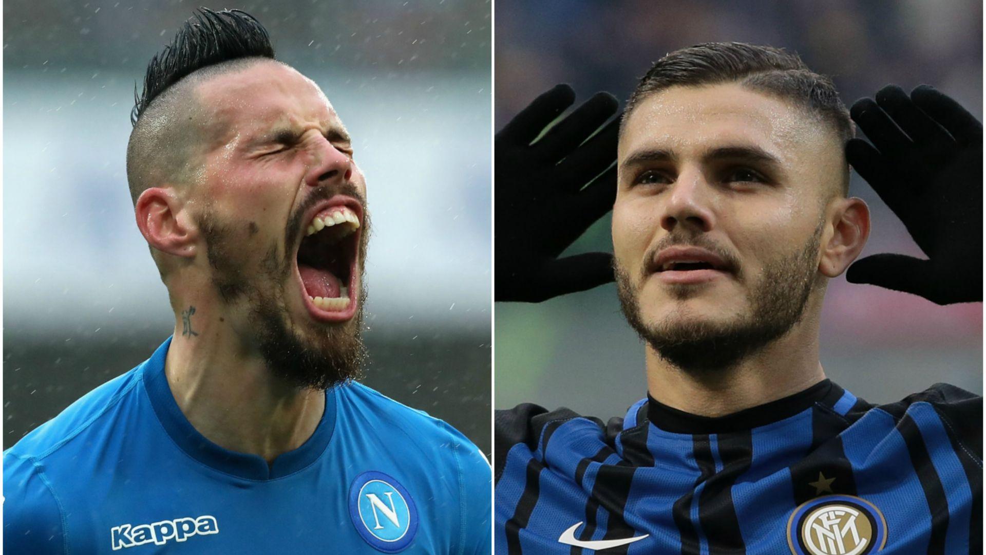 Inter-Napoli, meno due. Ecco le ultime di formazione
