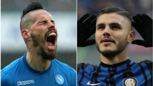 Hamsik Icardi Inter Napoli