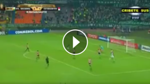 video gol 4-1 Atletico Nacional Estudiantes