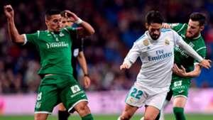 Isco Alarcon Real Madrid Leganes Copa del Rey 24012018
