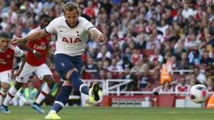 Harry Kane Arsenal vs Tottenham 2019-20