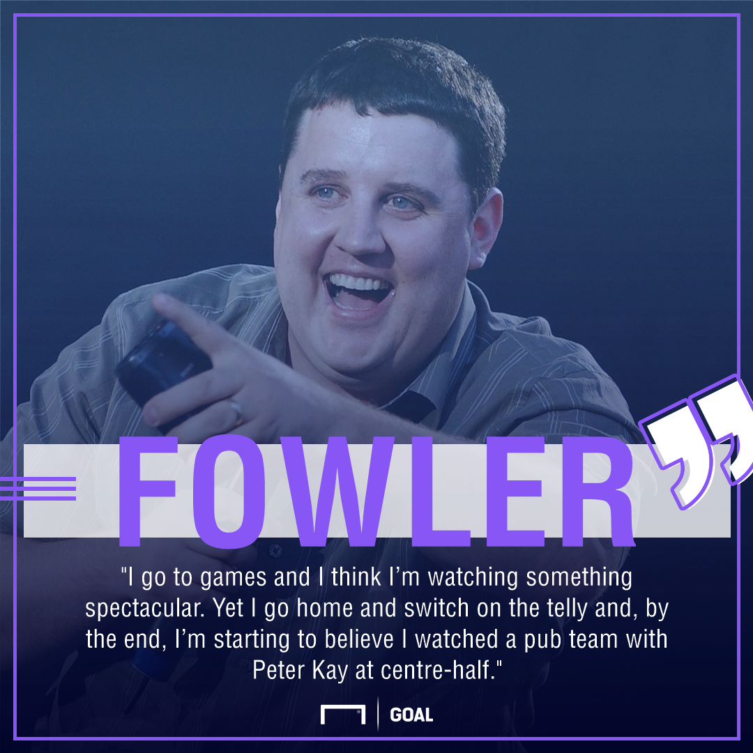 Robbie Fowler Liverpool criticism Peter Kay