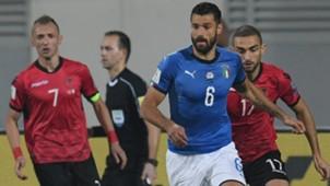 Antonio Candreva Albania Italy