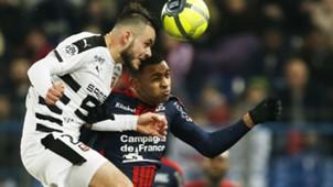 Ronny Rodelin Jeremy Gelin Caen Rennes Ligue 1 17022018