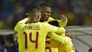 Ecuador celebrate