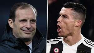 Massimiliano Allegri Cristiano Ronaldo Juventus