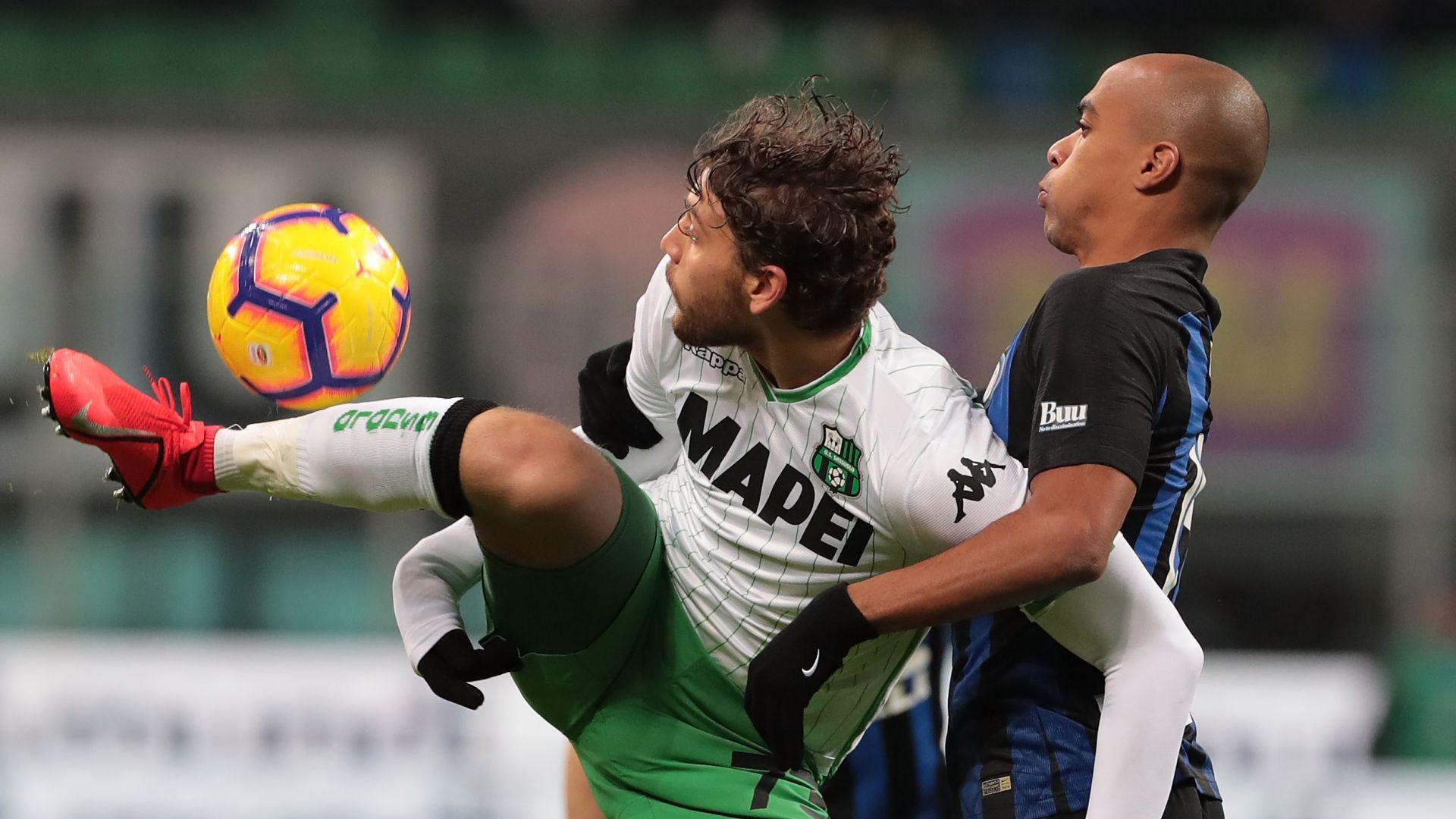 Manuel Locatelli Joao Mario Inter Sassuolo Serie A