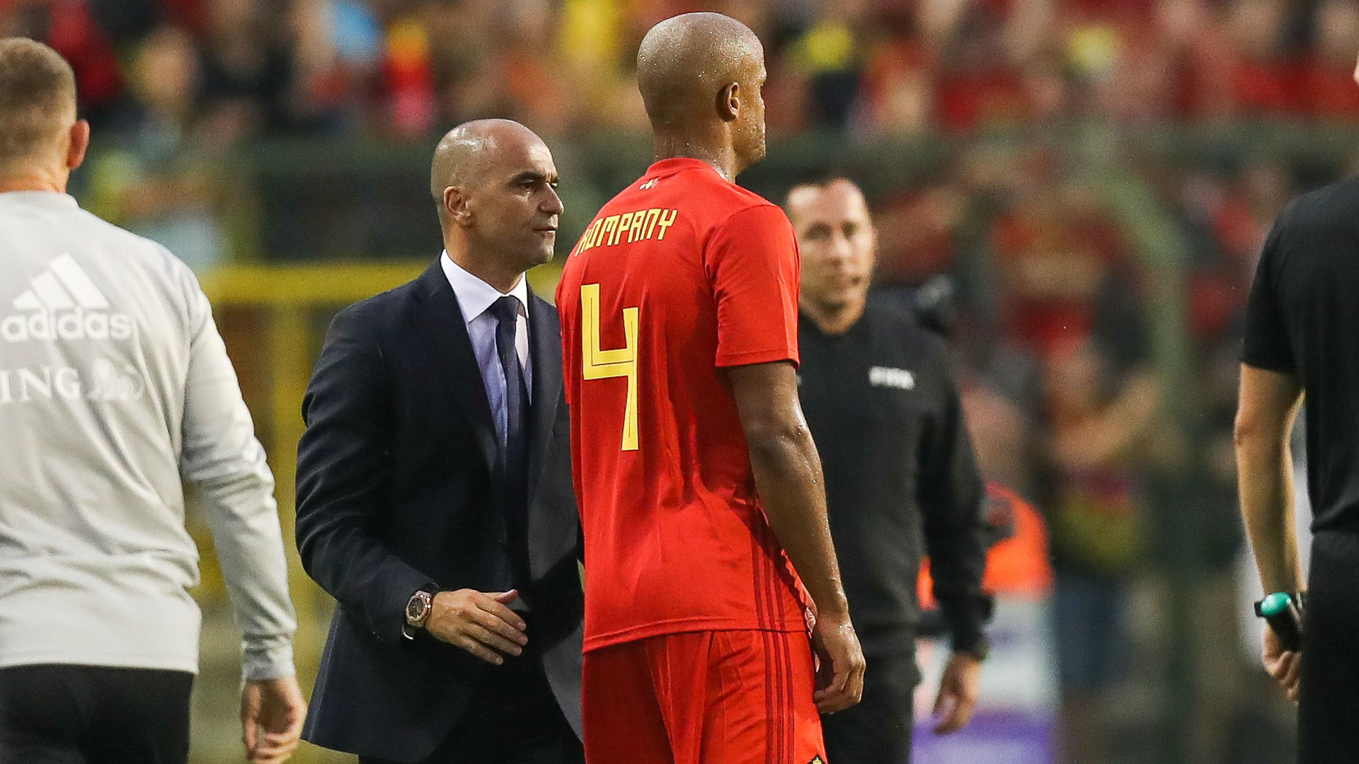 Belgium suffer Kompany blow in draw with Portugal