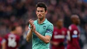 Laurent Koscielny Arsenal West Ham 120118