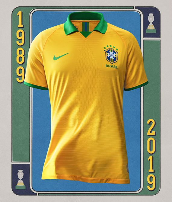 BODY ONLY Brasil novo uniforme 2019