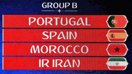 Spielplan WM 2018 Portugal Spanien Marokko Iran