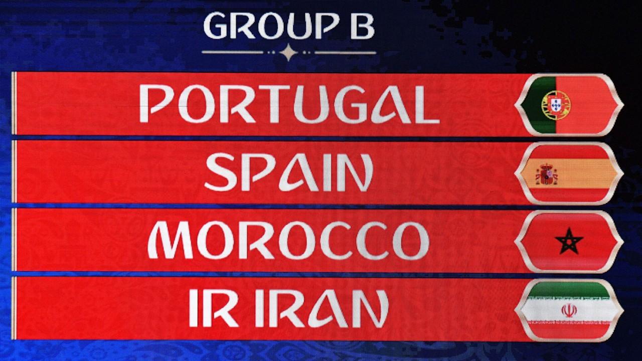 WM 2018: Tabelle der Gruppe B mit Portugal, Spanien, Marokko, Iran ...