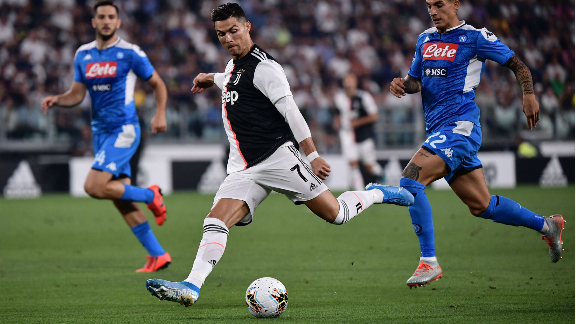 Cristiano Ronaldo Juventus Napoli Serie A