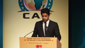 """Nasser Al-Khelaifi Caf """"General Assembly"""" morocco"""