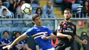 Matias Silvestre, Jesus Suso, Sampdoria, Milan, Serie A, 24092017
