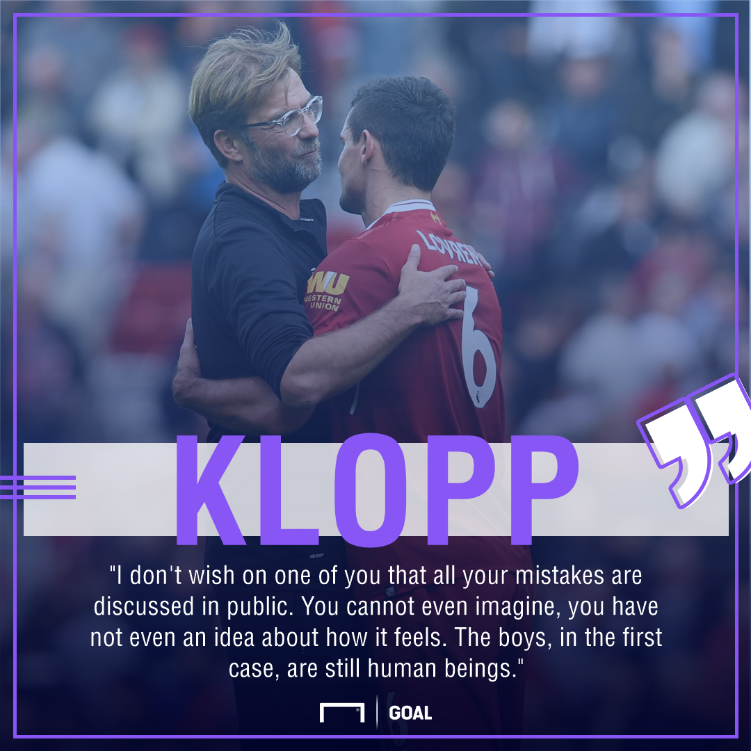 Klopp on Lovren quote gfx