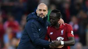 Sadio Mane Pep Guardiola