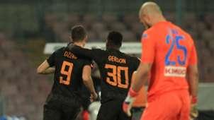 SSC Neapel AS Rom Gerson Dzeko 03032018