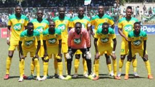 Mathare United v Gor Mahia.