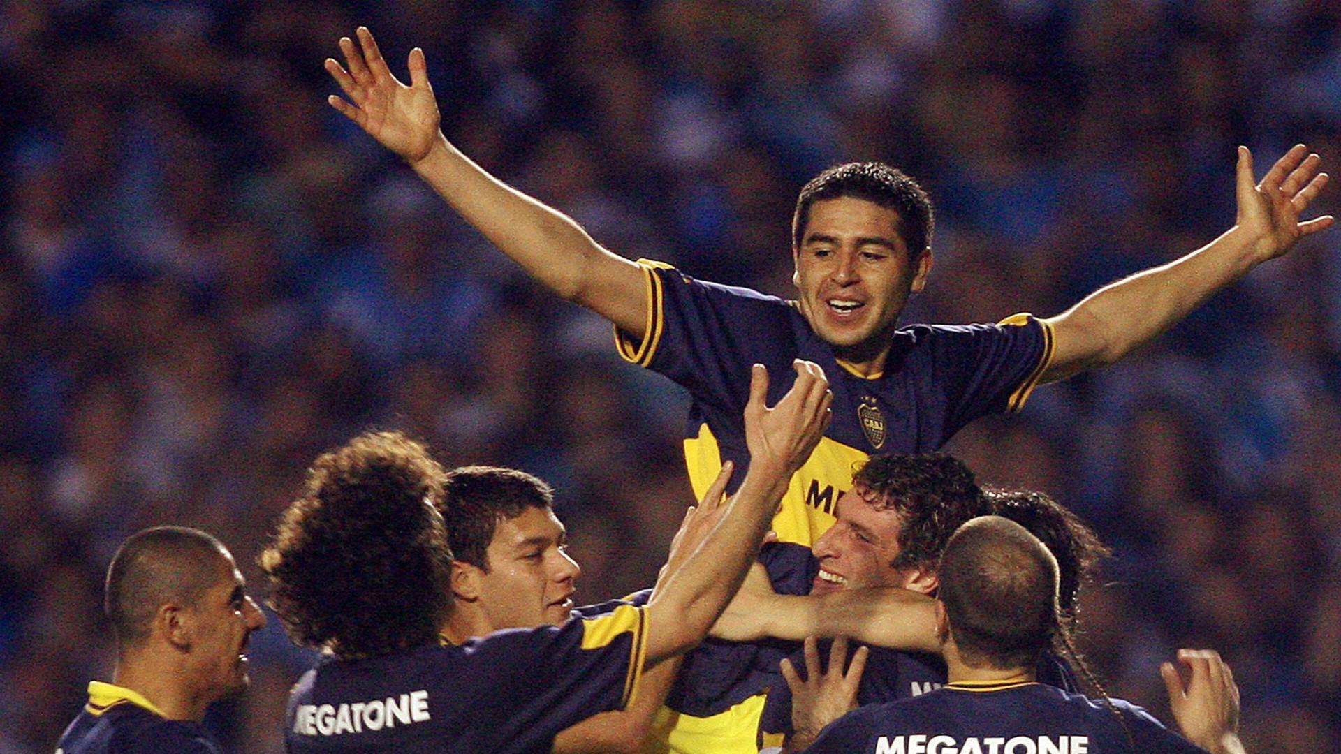 Juan Roman Riquelme Gremio Boca Copa Libertadores 2007 20062007