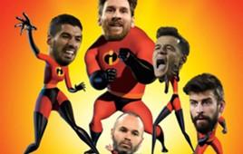Pixar FC Barcelona