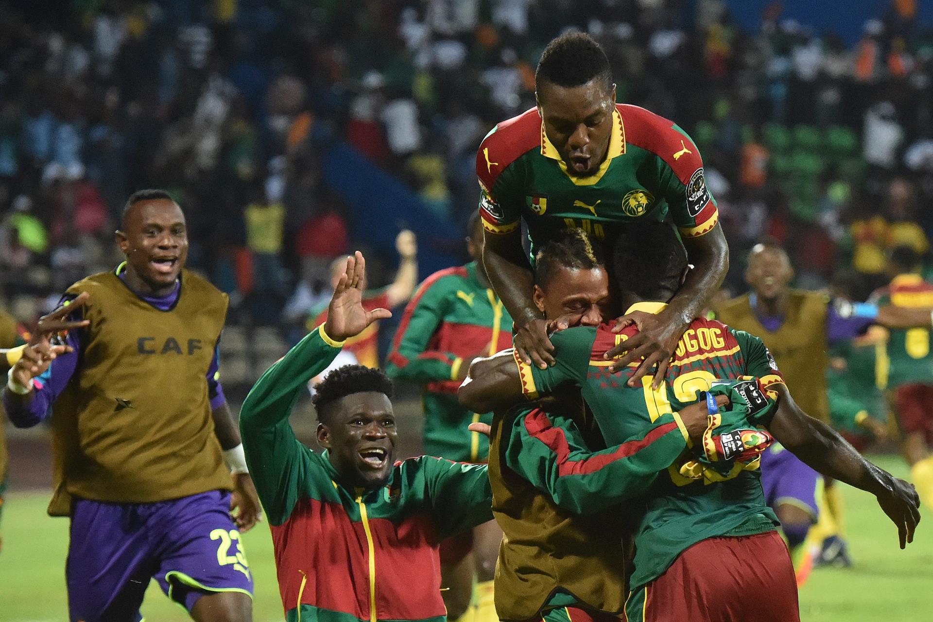 Cameroon celebrations