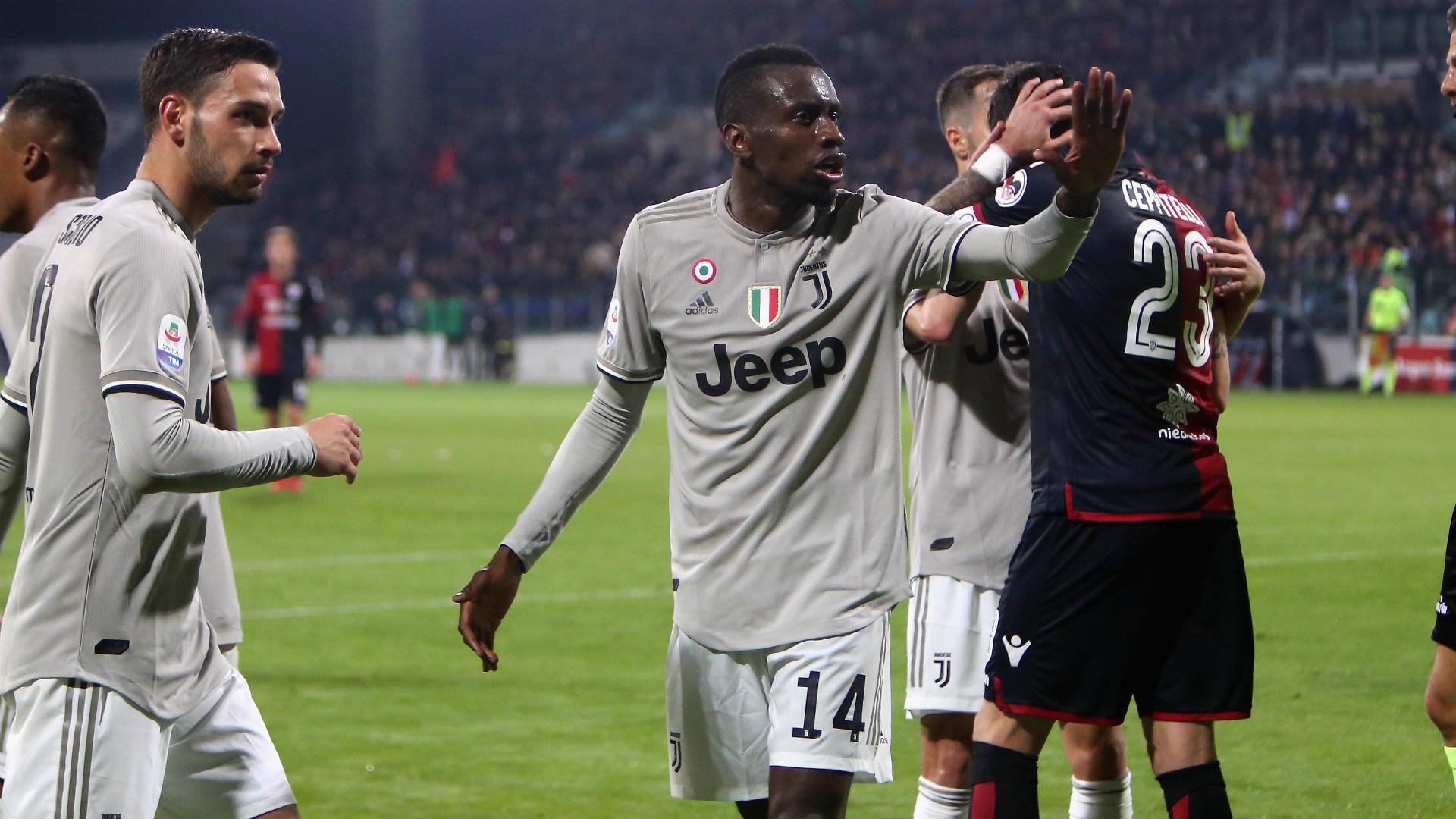 Blaise Matuidi Cagliari Juventus