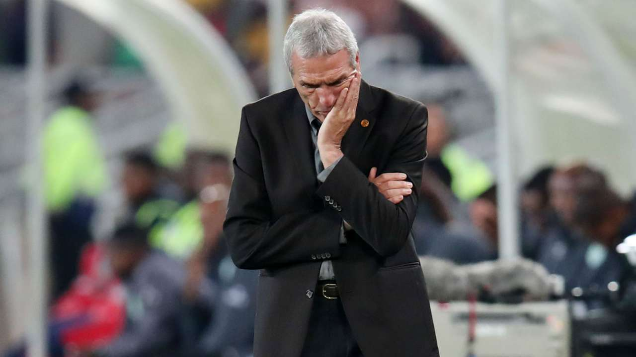 Kaizer Chiefs coach Ernst Middendorp, April 2019