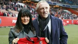 Salma Hayek Francois Pinault Stade Rennes