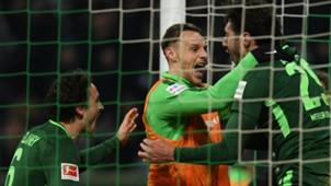 Werder Bremen celebration