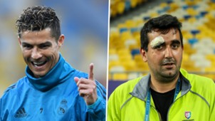 Cristiano Ronaldo cameraman composite