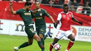 Ghislain Konan Youssef Ait Bennasser Reims Monaco Ligue 1 03112018