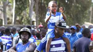 AFC Leopards fans v Thika United.
