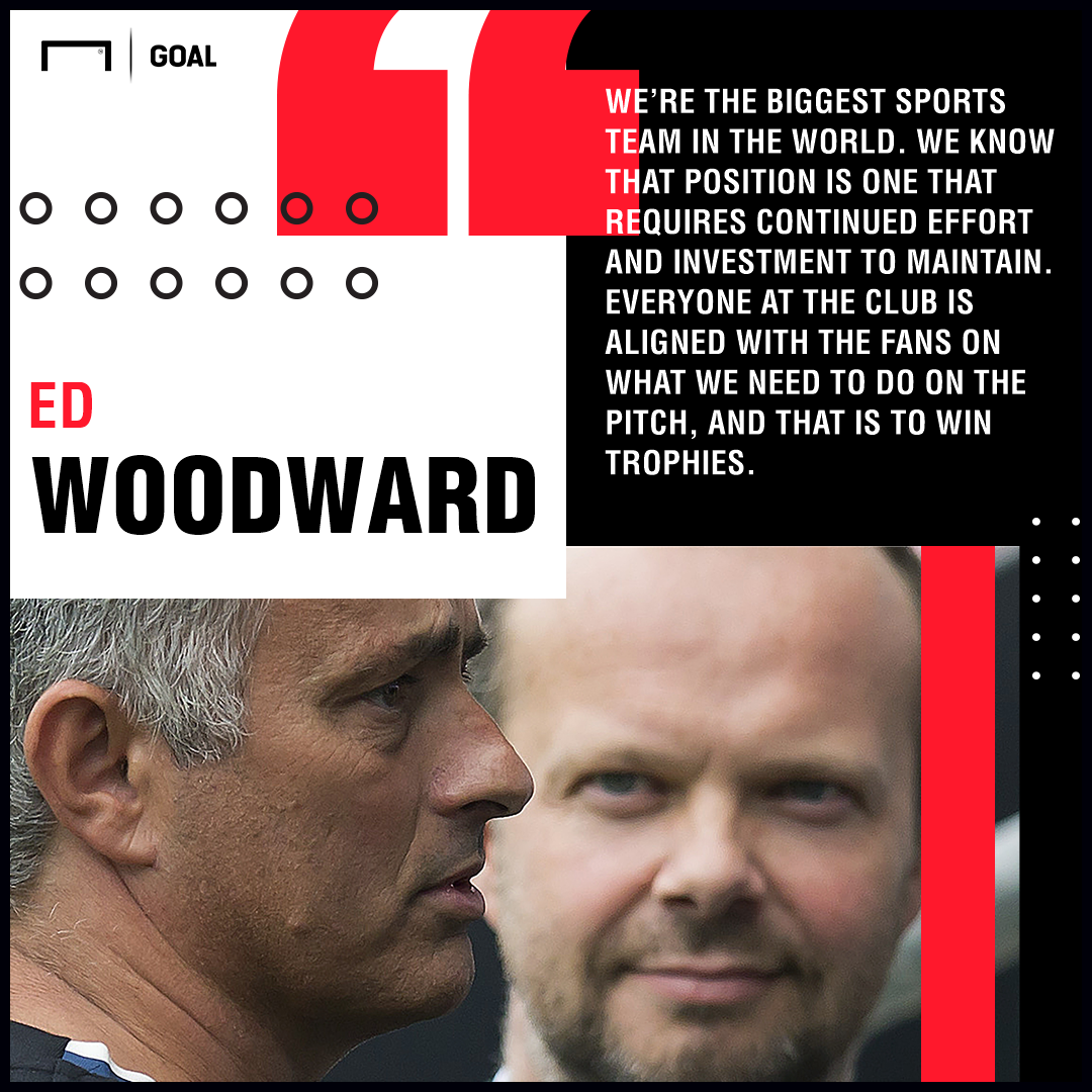 Ed Woodward Manchester United quote