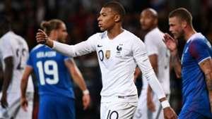 Kylian Mbappe France Iceland Friendly 11102018